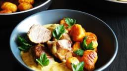 Curry de joues de cochon