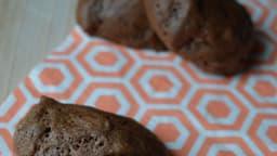 Biscuits au chocolat aux blancs d'œufs