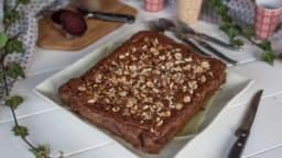 Brownie chocolat-betterave