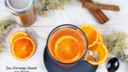 Jus d'orange chaud aux épices