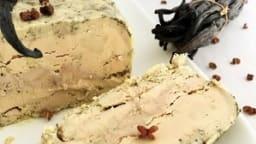Terrine de foie gras à la vanille et poivre de Szechuan