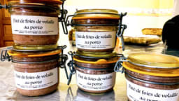 Mousse de foies de volailles au Porto