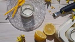 Yaourts au citron avec ou sans yaourtière