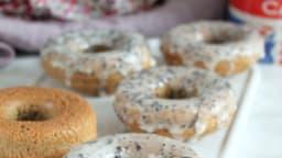 Donuts au thé Earl Grey au four