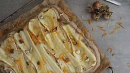 Pizza panais-noisette-orange