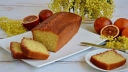 Cake à l'orange sanguine