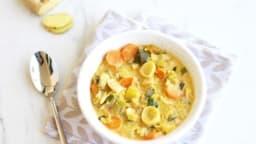 Curry de poireaux et de carottes – Contes et Délices