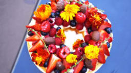Couronne de fruits rouges