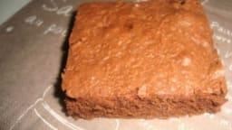 Brownies aux pépites de chocolat noir
