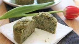 Muffins épinards - olives