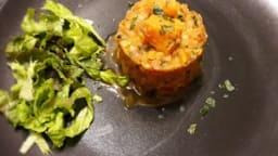 Dahl de lentilles corail et patate douce