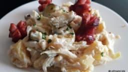 Salade endives pommes de terre au yaourt grec