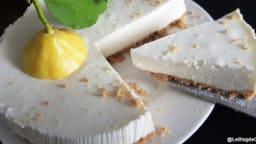 Cheesecake au fromage blanc et citron de Menton