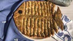 Poisson d'avril feuilleté torsadé au saumon
