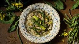 Risotto aux asperges et aux brocoletti