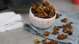 Granola quinoa-curry
