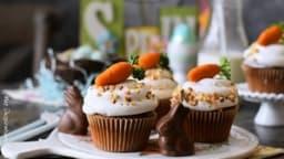 Le carrot cake cupcakes