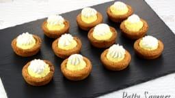 Sablés Bretons mousse citron