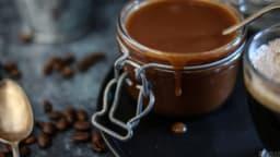 Sauce caramel au café