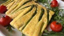 Frittata aux asperges