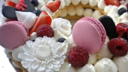 Number cake chantilly mascarpone au Limoncello