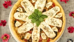 Tarte légumes grillés camembert di bufala