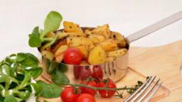Pommes de terre rôties à la grecque