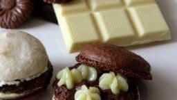 Macarons 3 chocolats et rhum