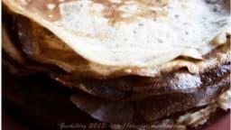 Crèpes à la farine de châtaigne
