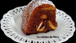 Gâteau chocolat, noix et spéculoos