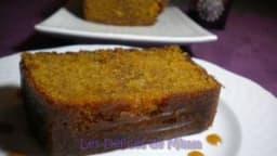 Gâteau fondant au caramel au beurre salé