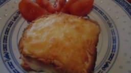 Croque-monsieur jambon fromage au four
