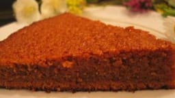 Gâteau moelleux au chocolat praliné