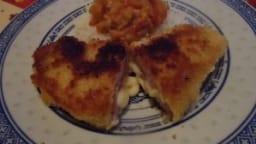 Cordon bleu de dinde au jambon et fromage à croque-monsieur