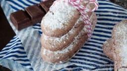 Biscuits à la cuillère chocolat et piment d'Espelette
