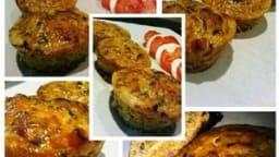 Petits flans aux carottes, lardons et cumin