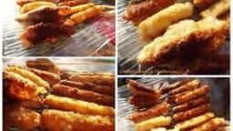 Fingers de mozzarella et d'emmental
