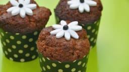 Muffins au chocolat à la lavande