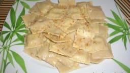 Raviolis poires roquefort