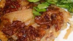 Tatin de poires à la fourme d'Ambert
