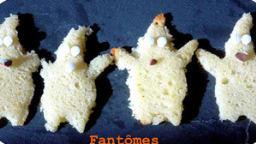 Biscuits fantômes Halloween