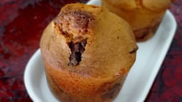 Muffin chocolat et noisettes caramélisées