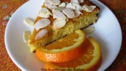 Gâteau ultra-moelleux à l'orange et aux amandes