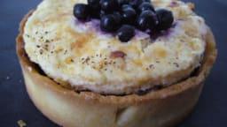 Tartelettes myrtille et fromage blanc