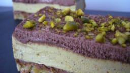 Royal pistache et chocolat
