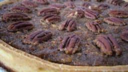 Tarte sirop d'érable et noix de pécan