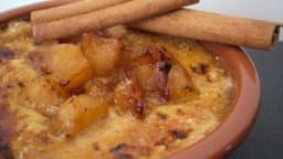 Crème brûlée pomme et cannelle