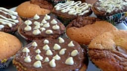 cupcakes marbrés pralinoise speculoos