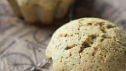 Muffins pavot aux blancs d'oeuf