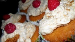 cupcakes framboises speculoos